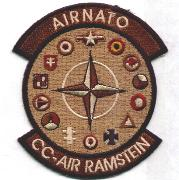 AIR NATO Patch 'Ramstein' (Des)