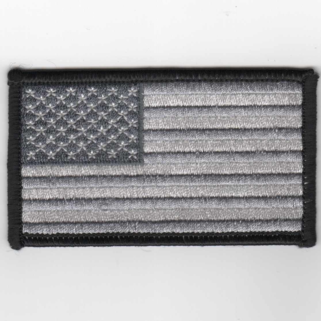 American Flag (Black/White/Gray)