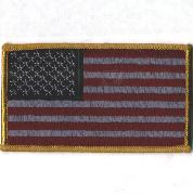 Small American Flag (Maroon)