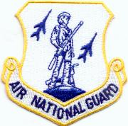Air National Guard Crest (White)