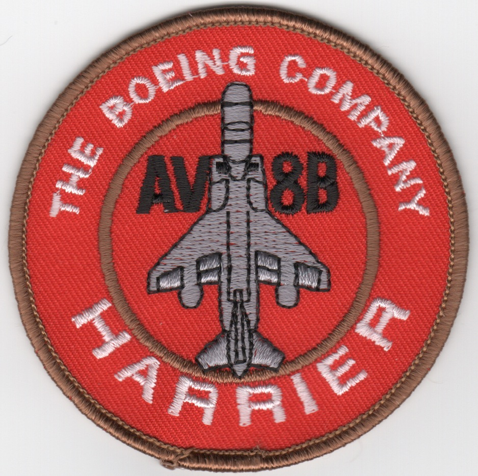 AV-8B Harrier Bullet (Red)
