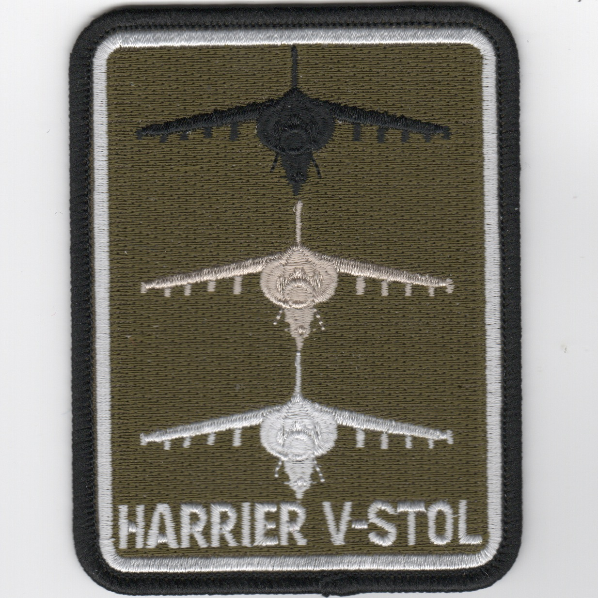 Harrier V/STOL A/C Patch (Rect/Subd)