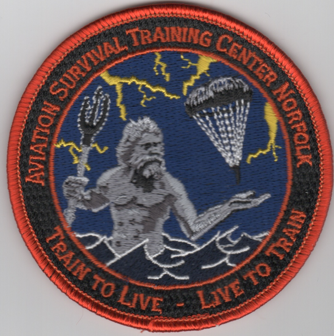 Aviation Survival Training Center Patch - Norfolk