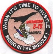 B-1B 'Hustle to Baghdad' Patch