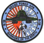 Grand Forks AFB B-1B Patch