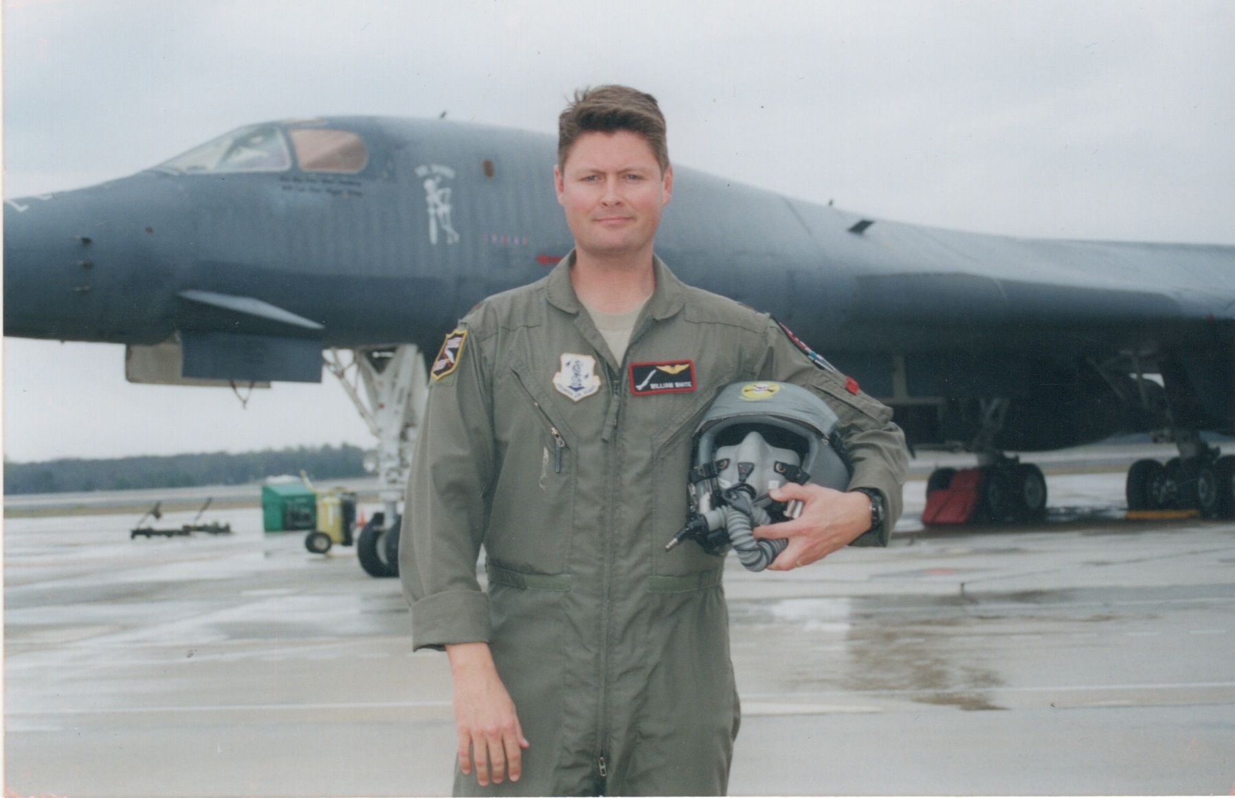Whitey with the B-1B