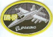Boeing F/A-18 Oval (Yellow)
