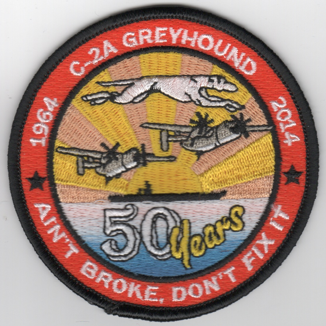 C-2 '50 YEAR' Patch