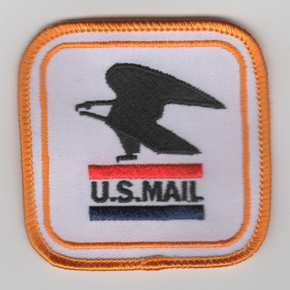 C-2 'US MAIL' Patch (Ylw/White)