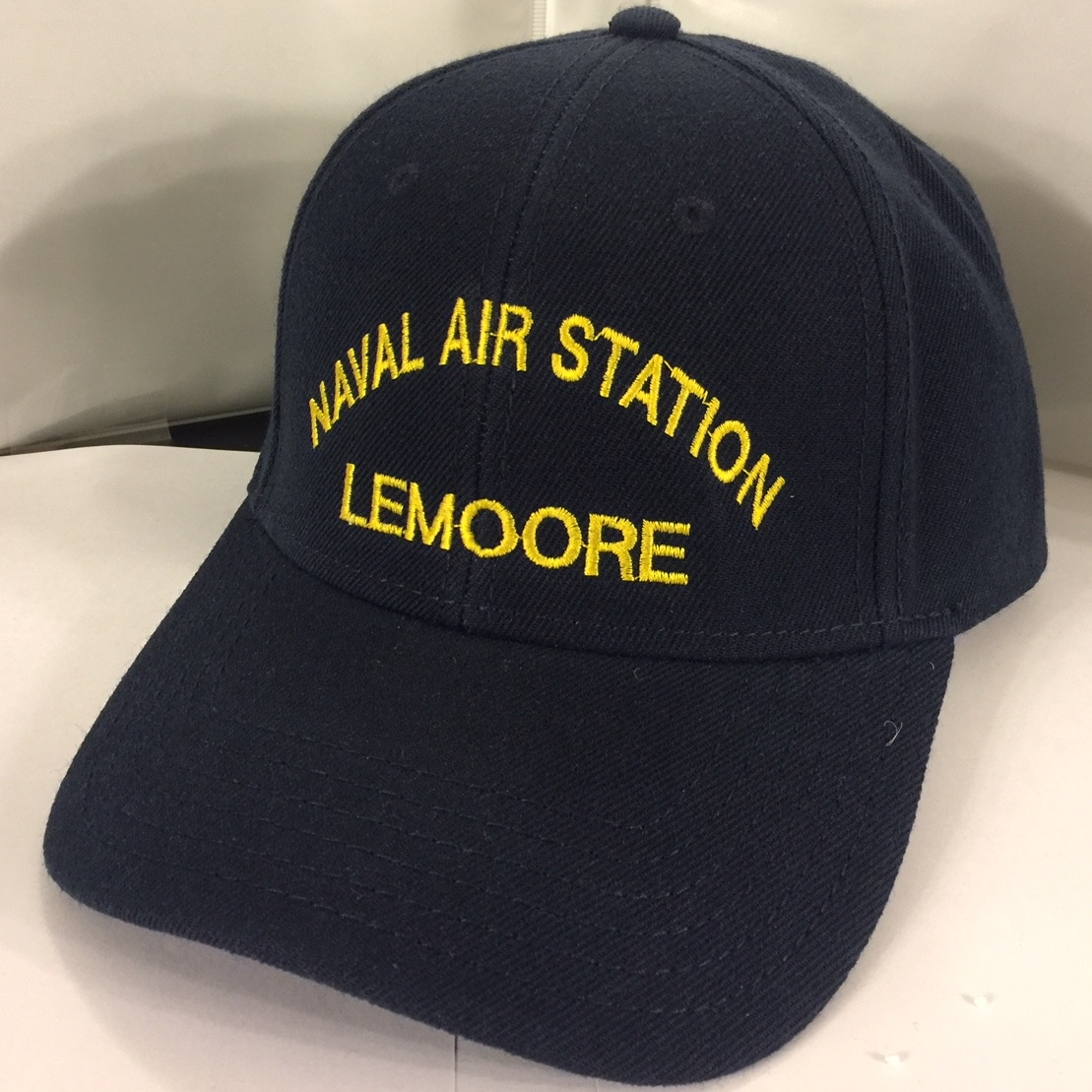 NAS Lemoore (Dk Blue/Text Only)