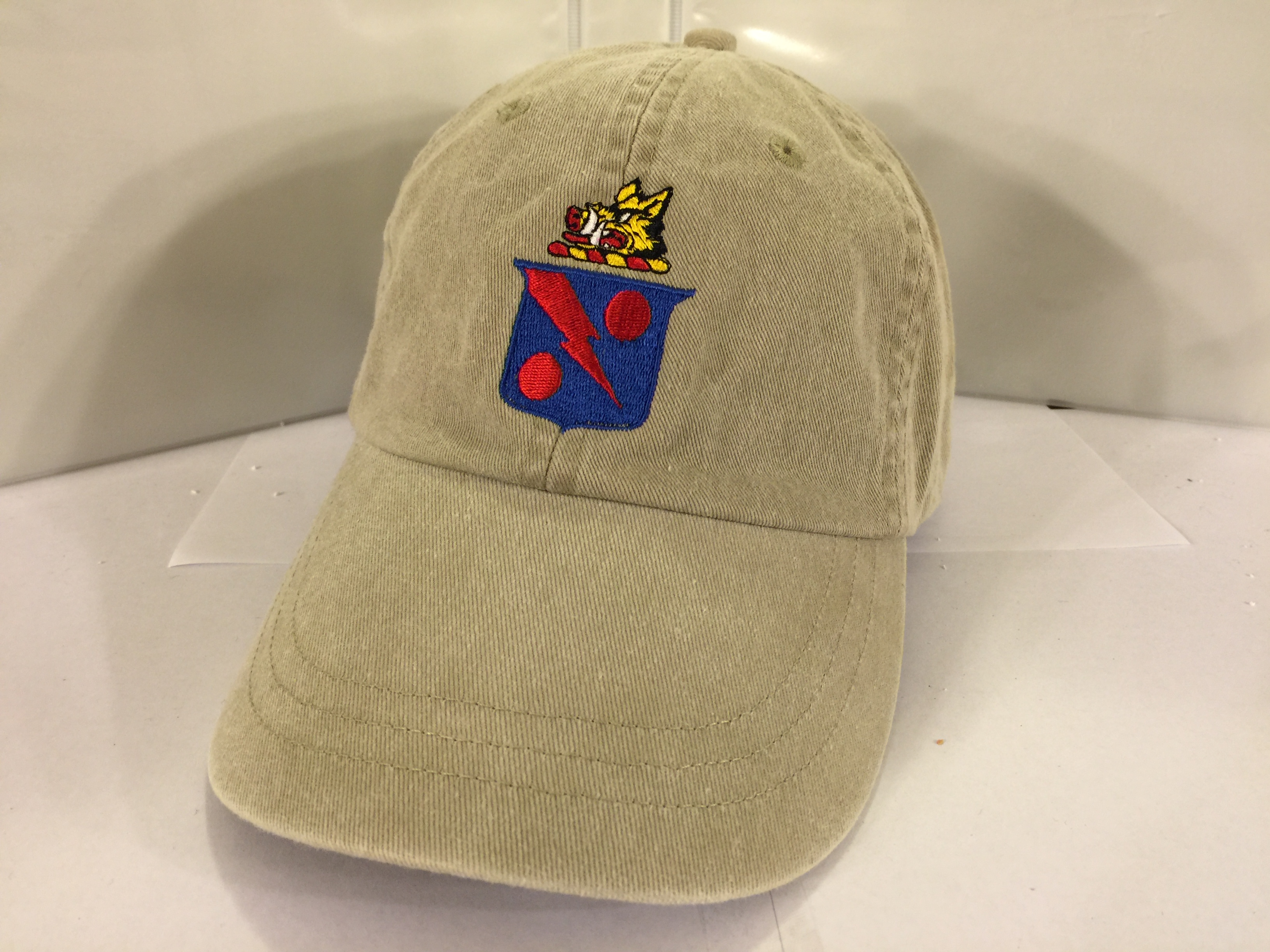 VF-11 'Gordon Above Shield' Ballcap (Khaki/Dir. Emb.)