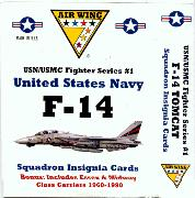 Cards: Airwing 7, F-14 Tomcat Series
