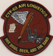 CTF-63 Air Logistics Patch