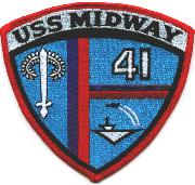 USS Midway (CV-41) Patch