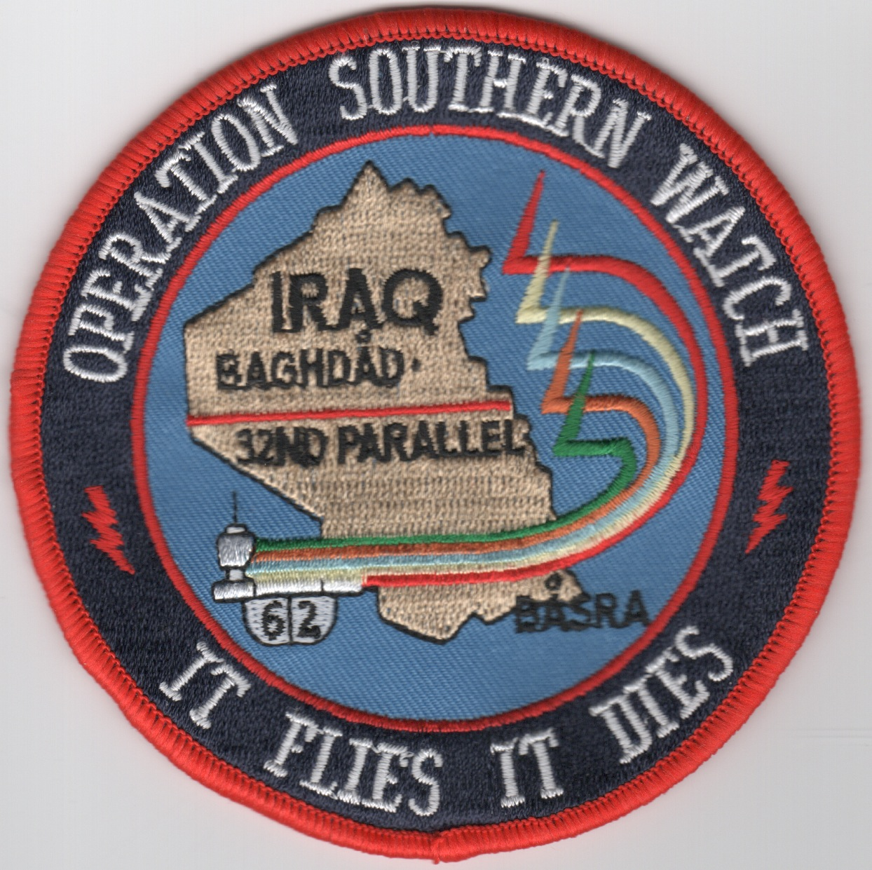 CV-62 OSW 'It Flies, It Dies' Cruise Patch