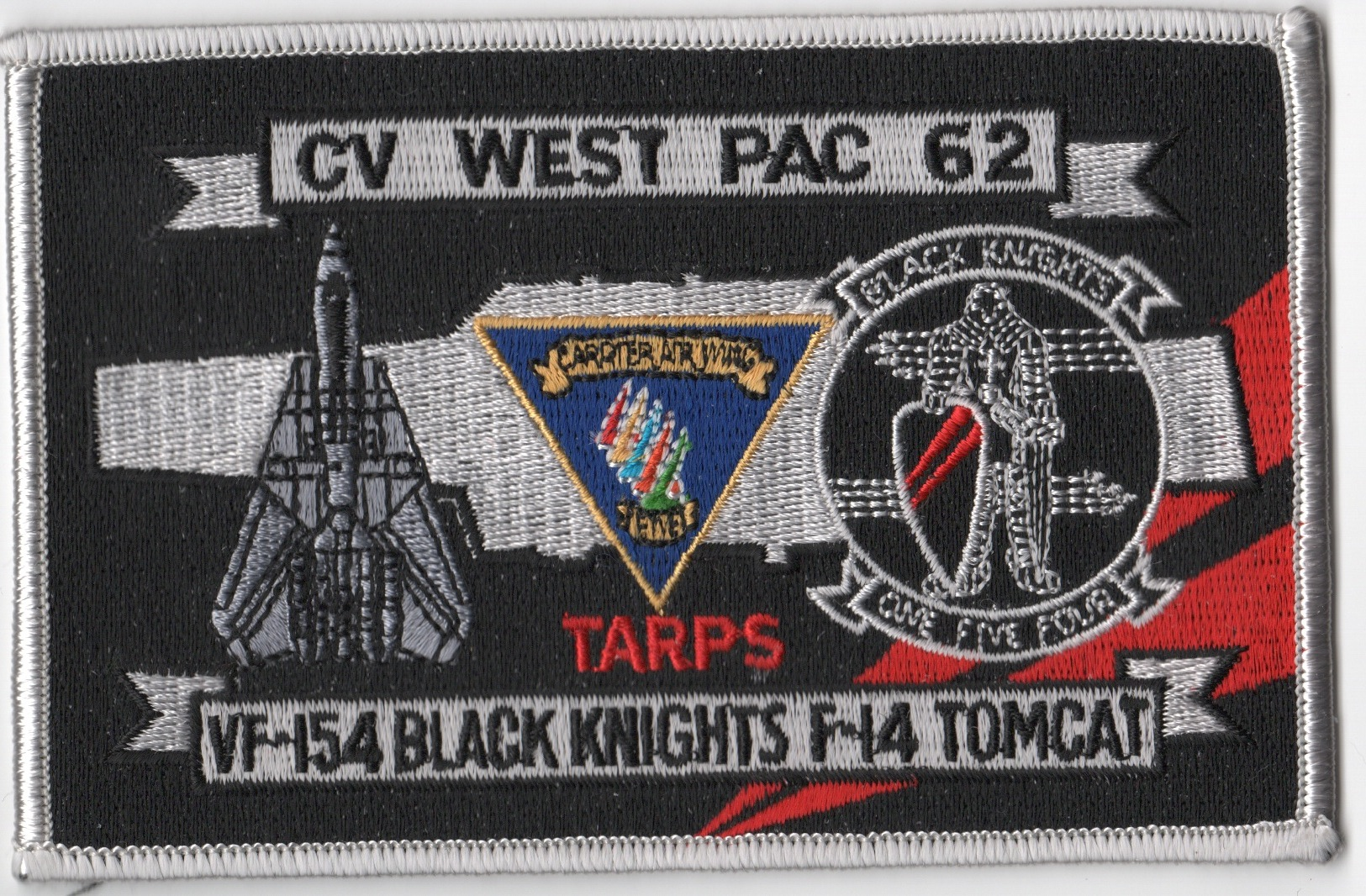 CV-62/VF-154 WestPac/TARPS Patch