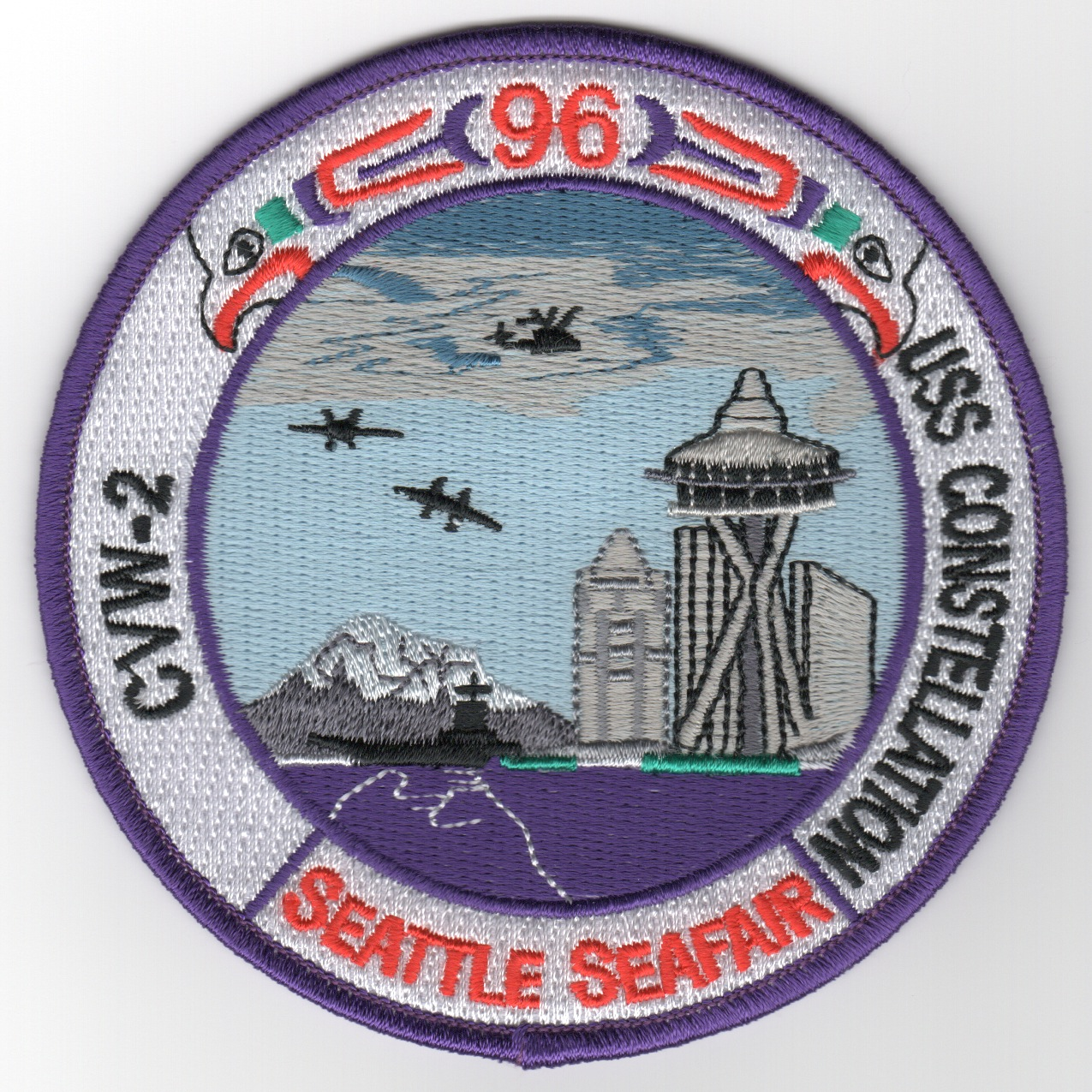 CV-64/CVW-2 1996 'Seattle Seafair' Patch