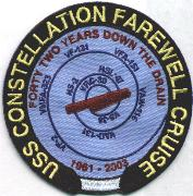CV-64/VF-2 'Farewell' Cruise Patch