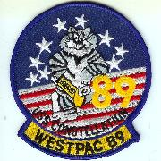 CV-64 WestPac '89 Cruise Patch