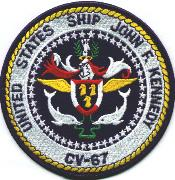 Official Seal- USS JFK CV-67
