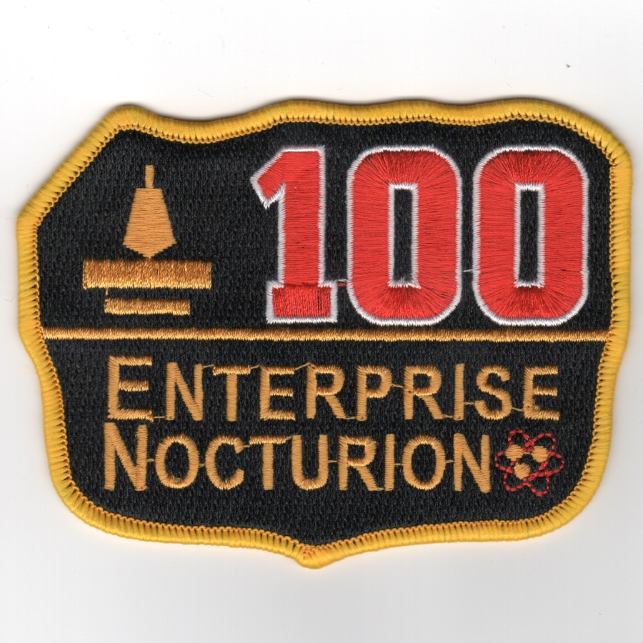 CVN-65 '100 Nite Traps' Patch