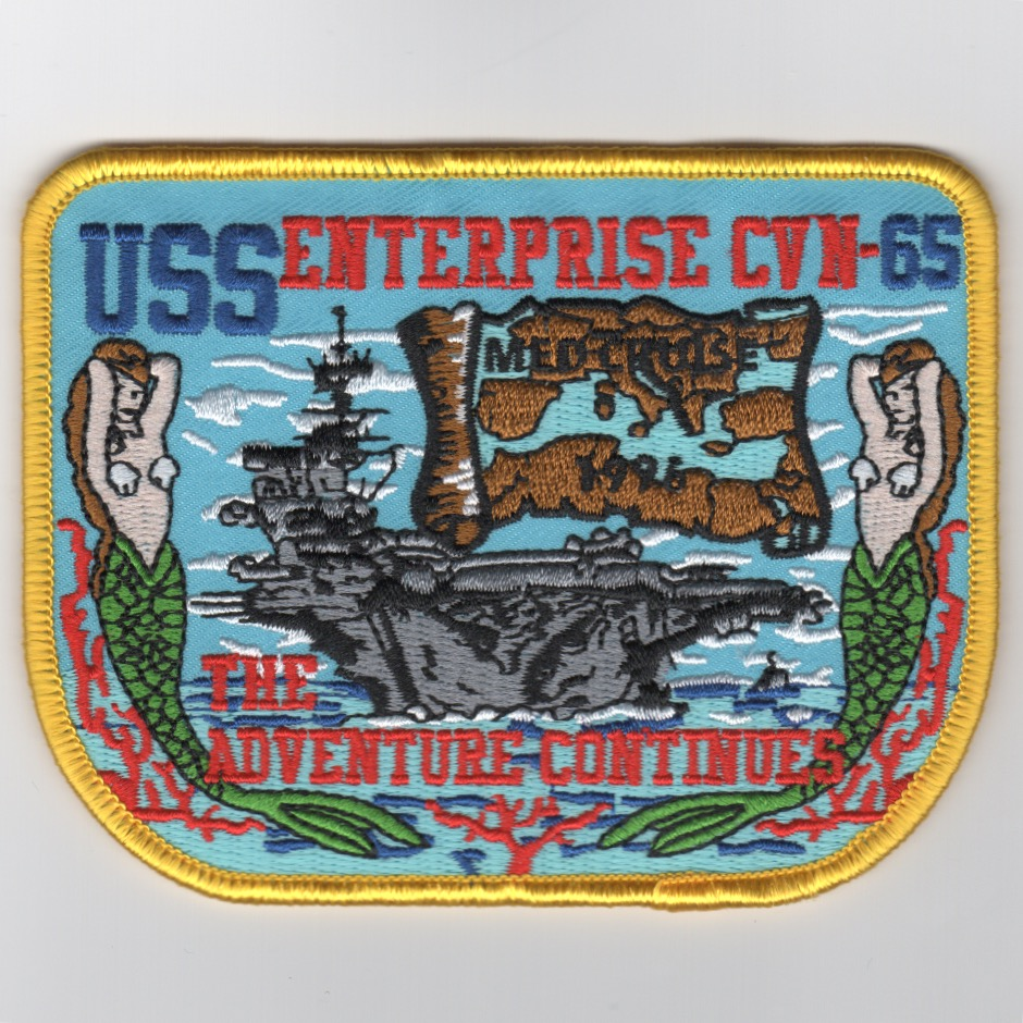 CVN-65 1996 'Adventure Continues' Cruise Patch