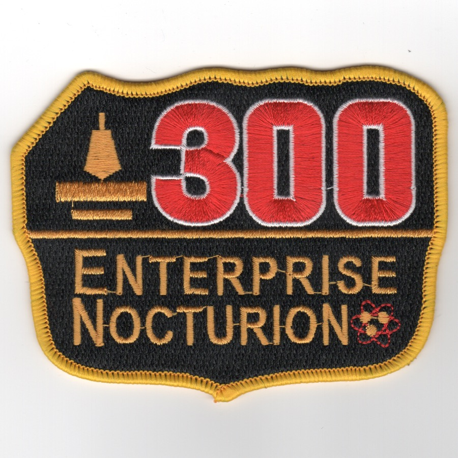 CVN-65 '300 Nite Traps' Patch