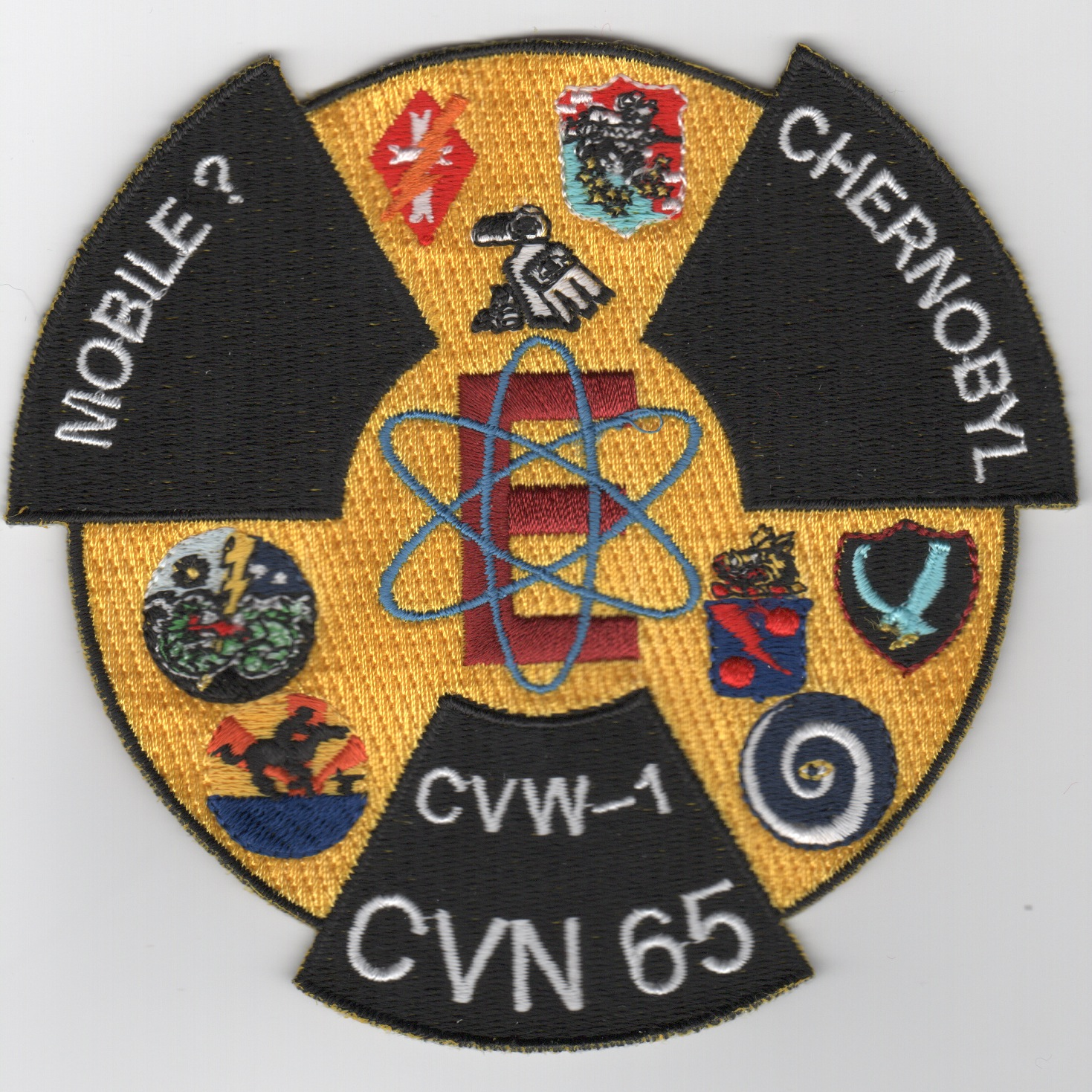 CVN-65/CVW-1 'Chernobyl' Cruise Patch