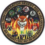 CVN-65/CVW-3 1998 'Desert Fox' Cruise Patch