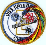USS Enterprise (CVN-65) 'Rainbow' Patch