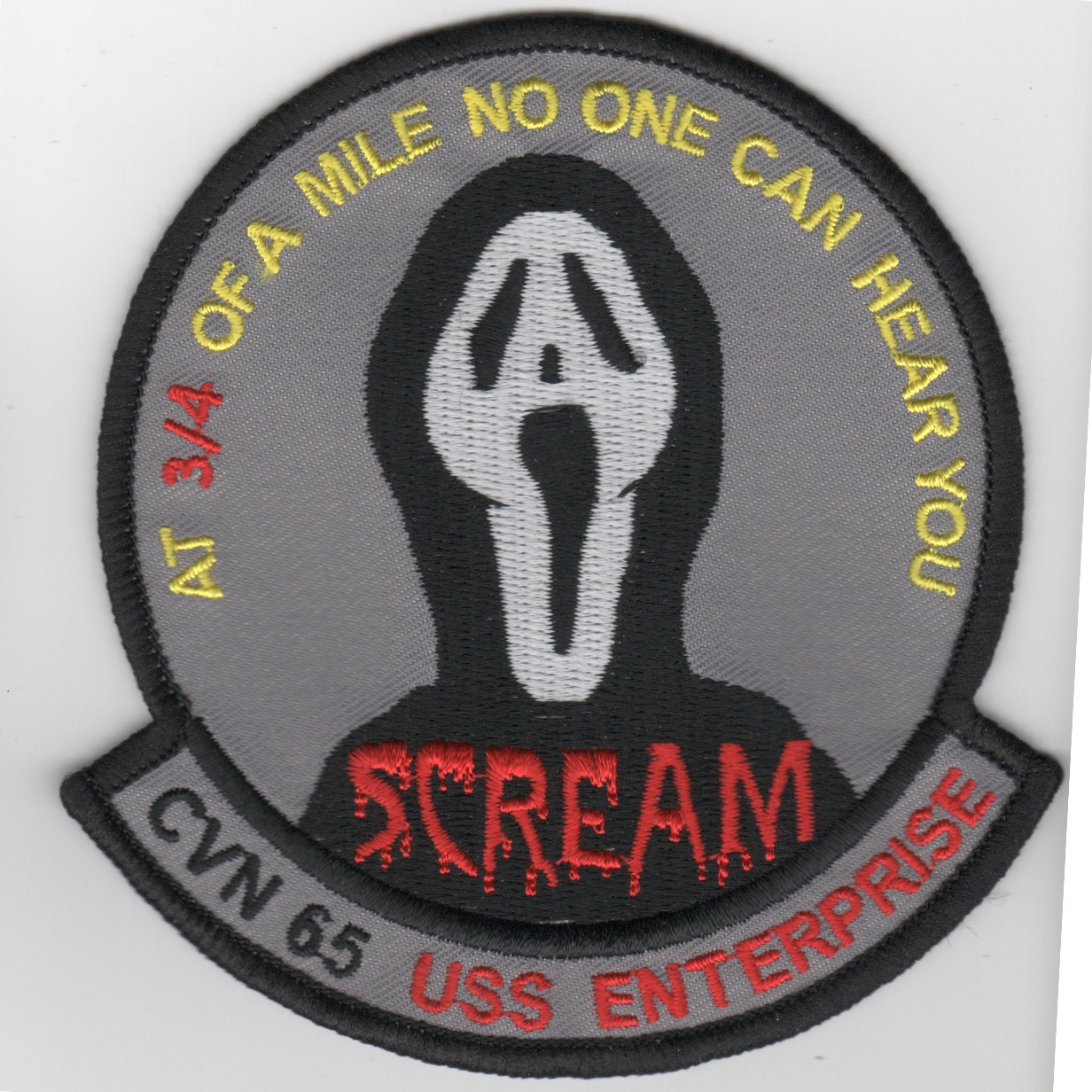 CVN-65 'Scream' Cruise Patch