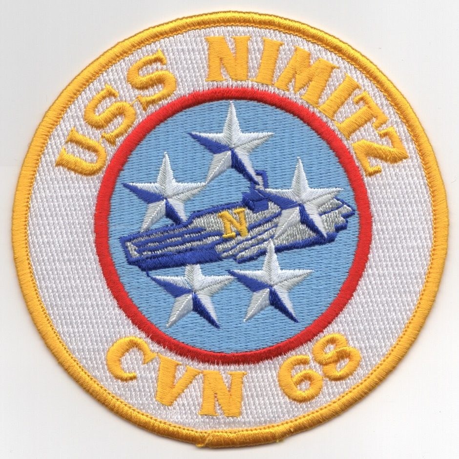 CVN-68 USS Nimitz Patch (Large)