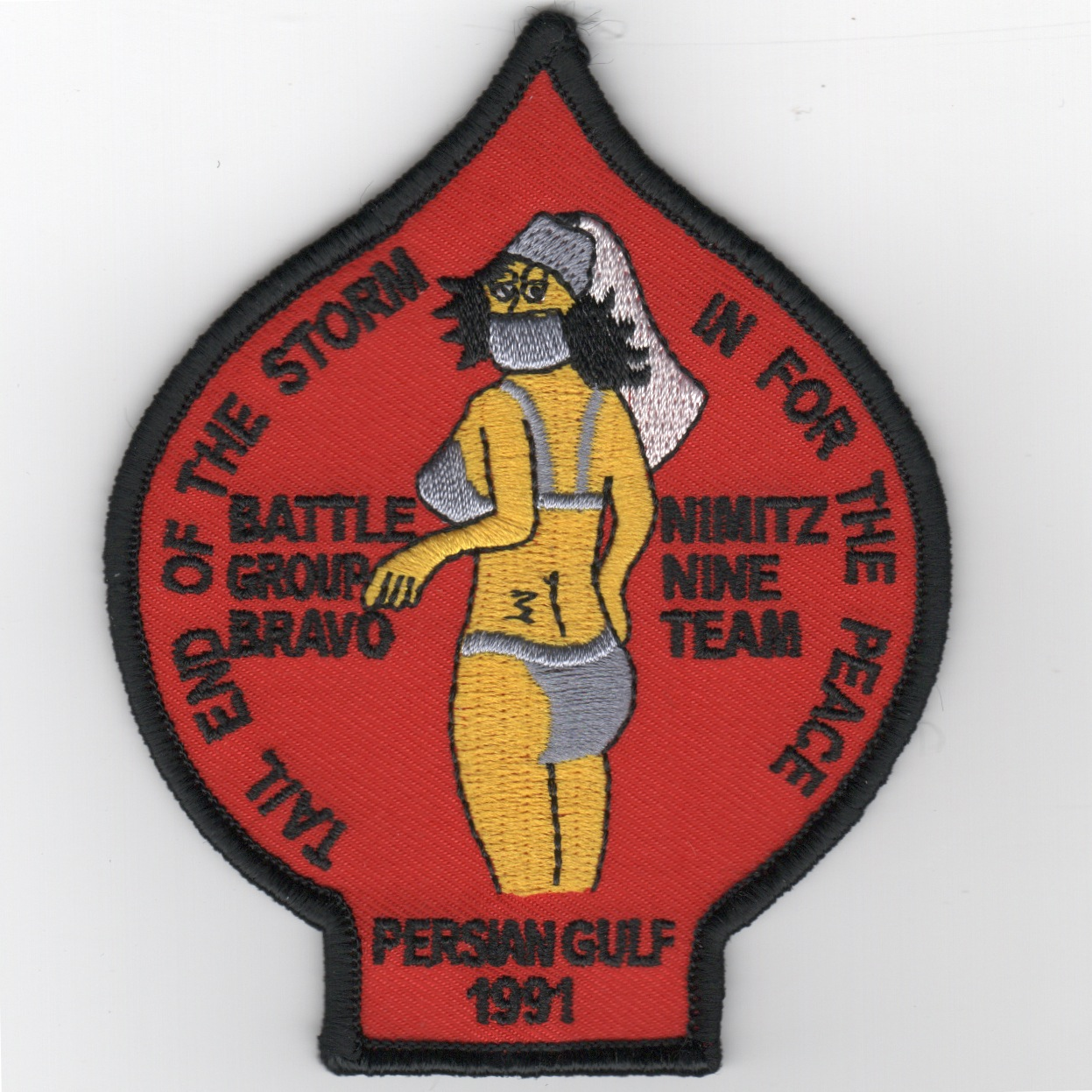 CVN-68/CVW-9 1991 'Genie' Cruise Patch