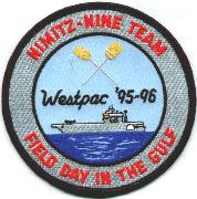 CVN-68/CVW-9 1996 Cruise Patch