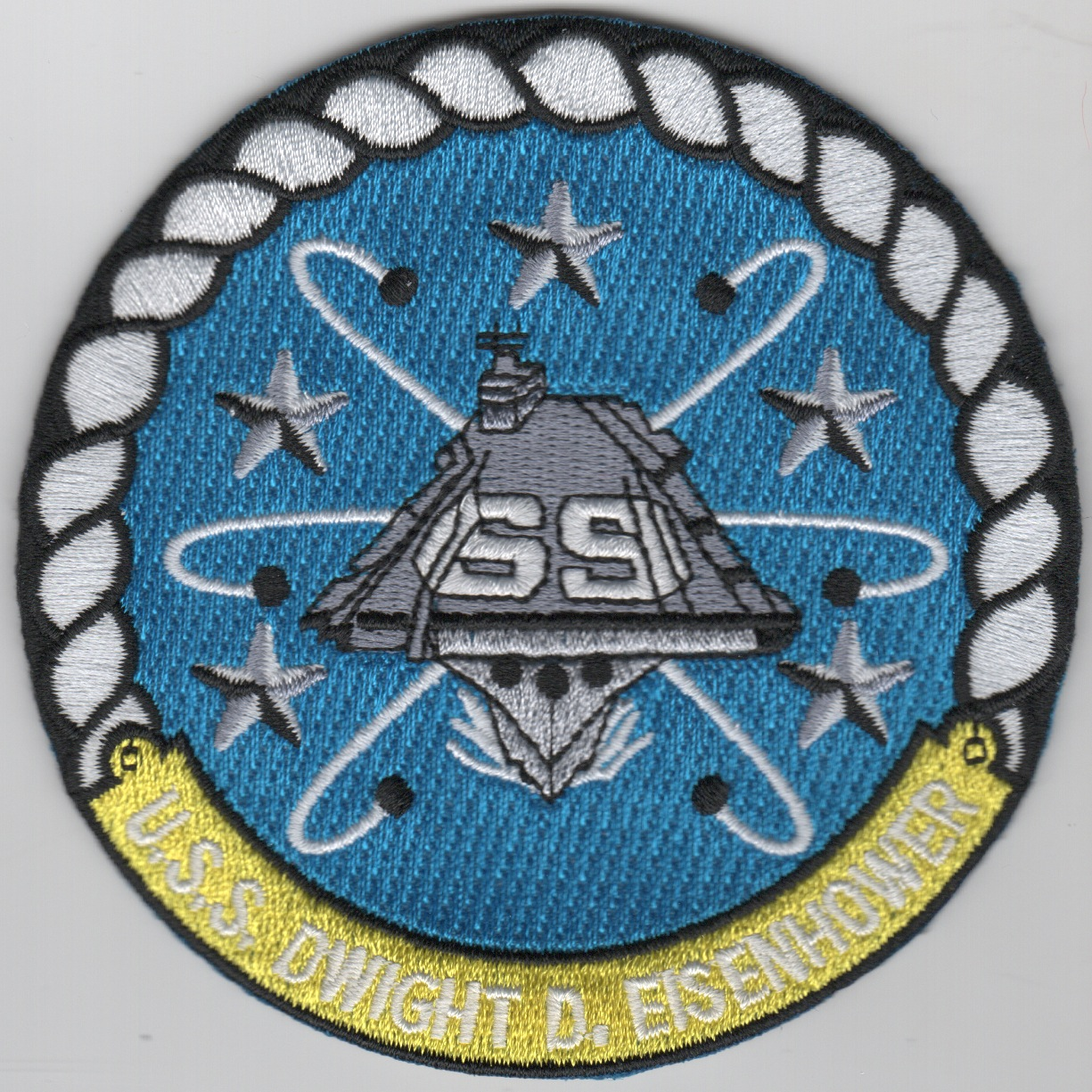 USS Dwight D. Eisenhower (CVN-69) Ship Patch