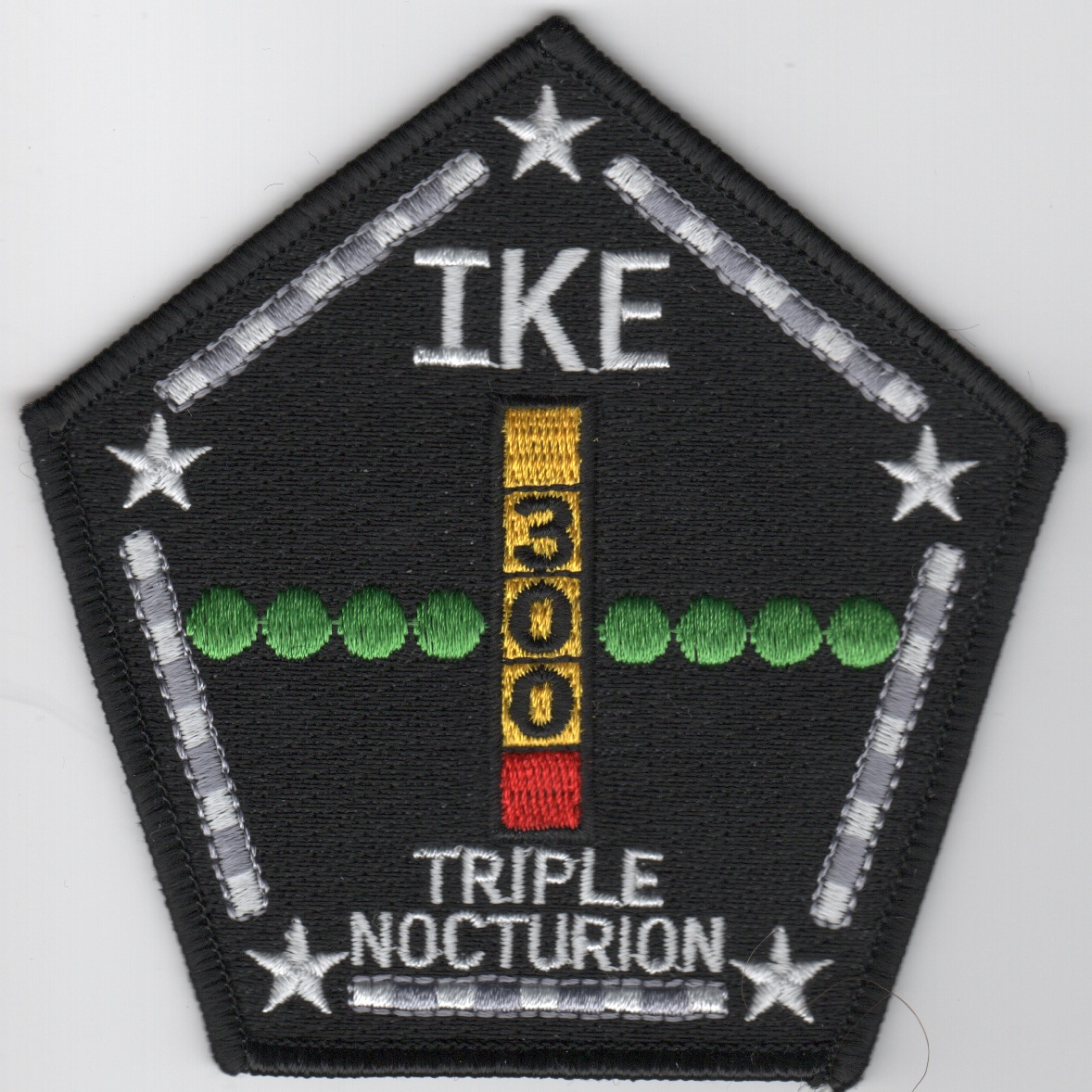 CVN-69 '300 NIGHT Traps' Patch