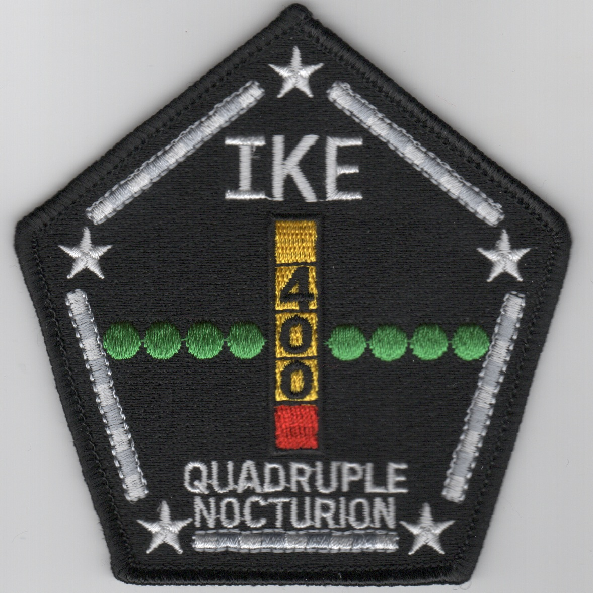 CVN-69 '400 NIGHT Traps' Patch