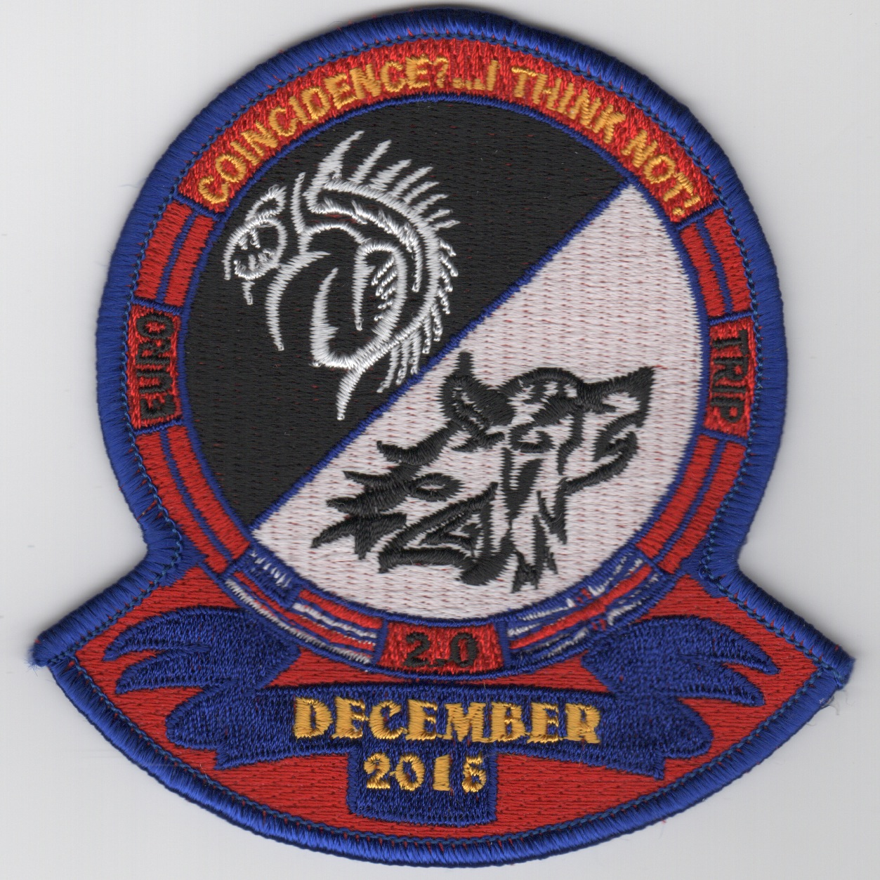 CVN-69 'Coincidence' Cruise Patch