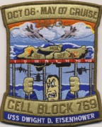 CVN-69/CVW-7 2007 'Cell Block' Cruise Patch