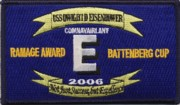 USS Eisenhower (CVN-69) 2006 Award Patch