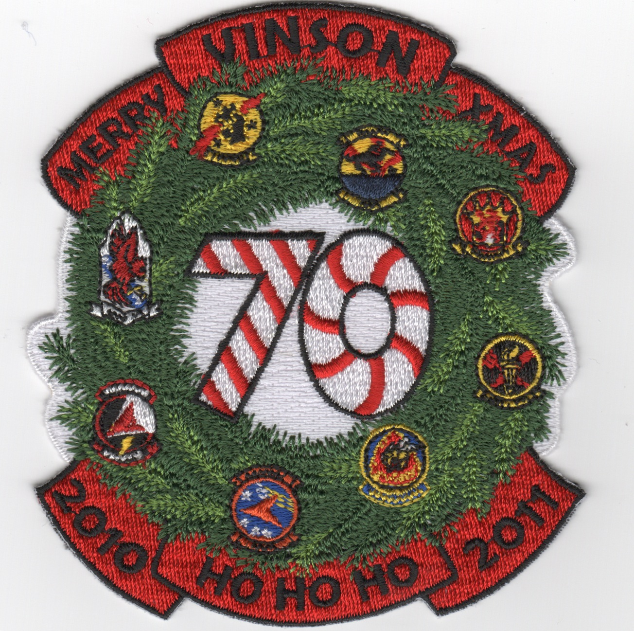 CVN-70 2010 'Christmas' Cruise Patch