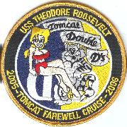 CVN-71/VF-213 Double-D Cruise Patch