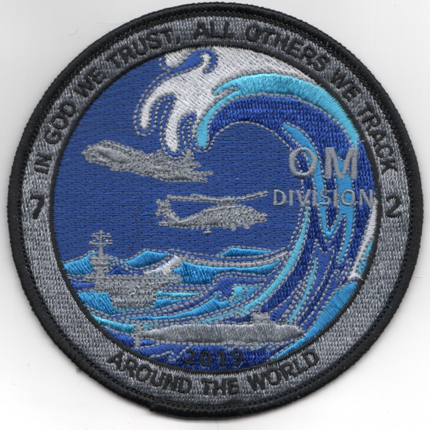 CVN-72 'OM Division' Cruise Patch
