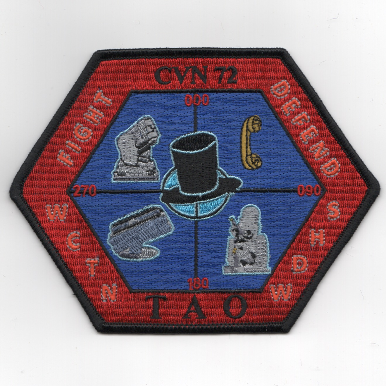 CVN-72 'TAO' Cruise Patch