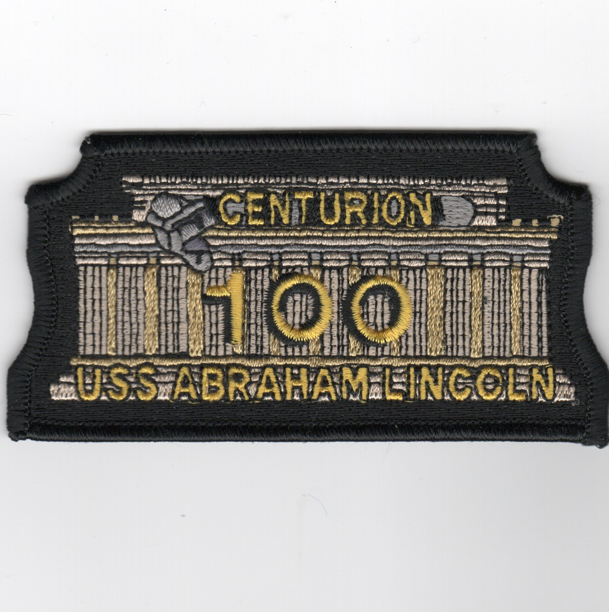 CVN-72 '100 Night Traps' Centurion Patch