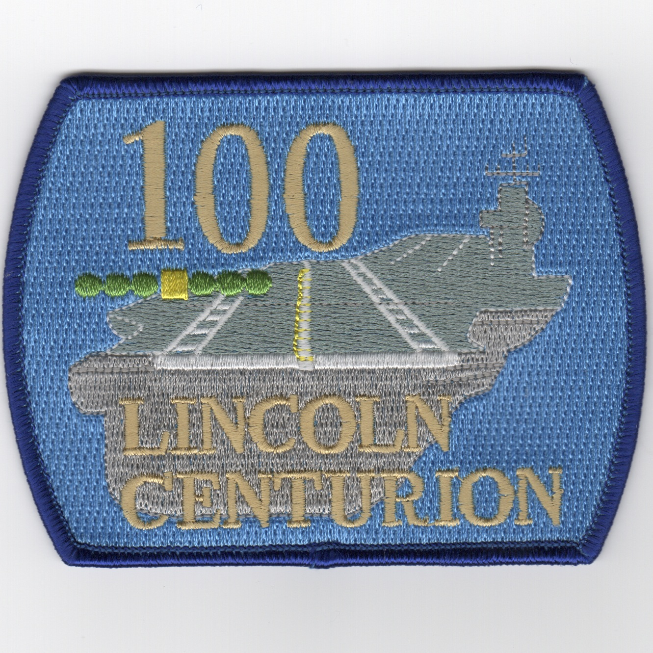 CVN-72 '100 Traps' Centurion Patch