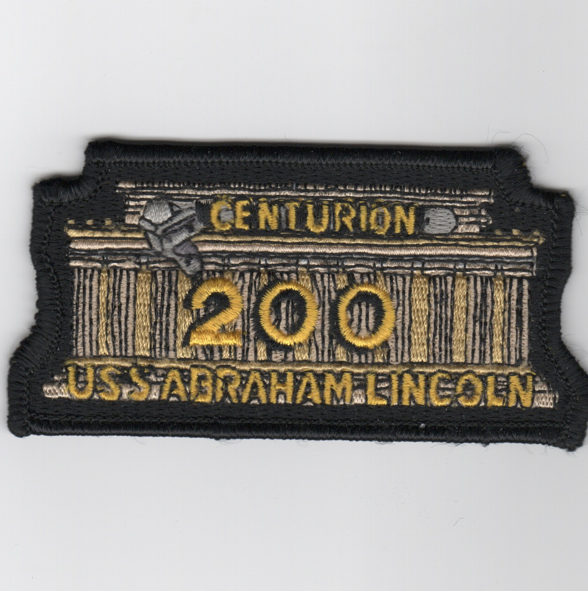 CVN-72 '200 Night Traps' Centurion Patch