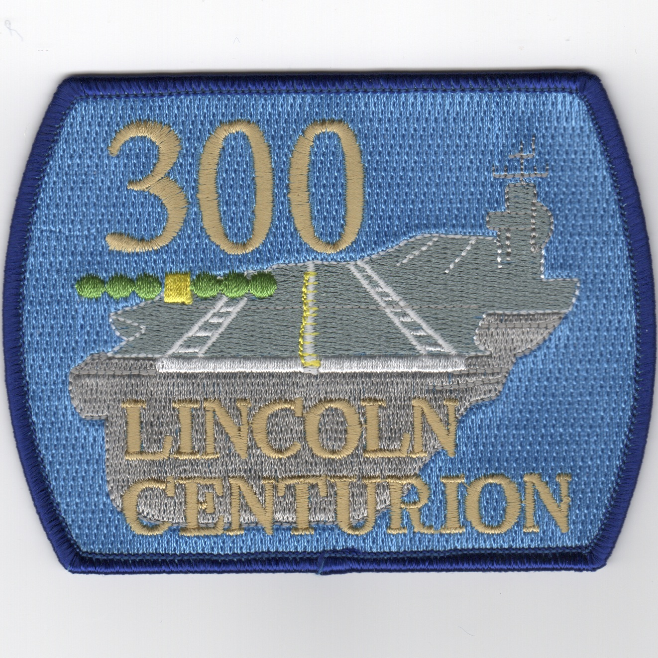 CVN-72 '300 Traps' Centurion Patch