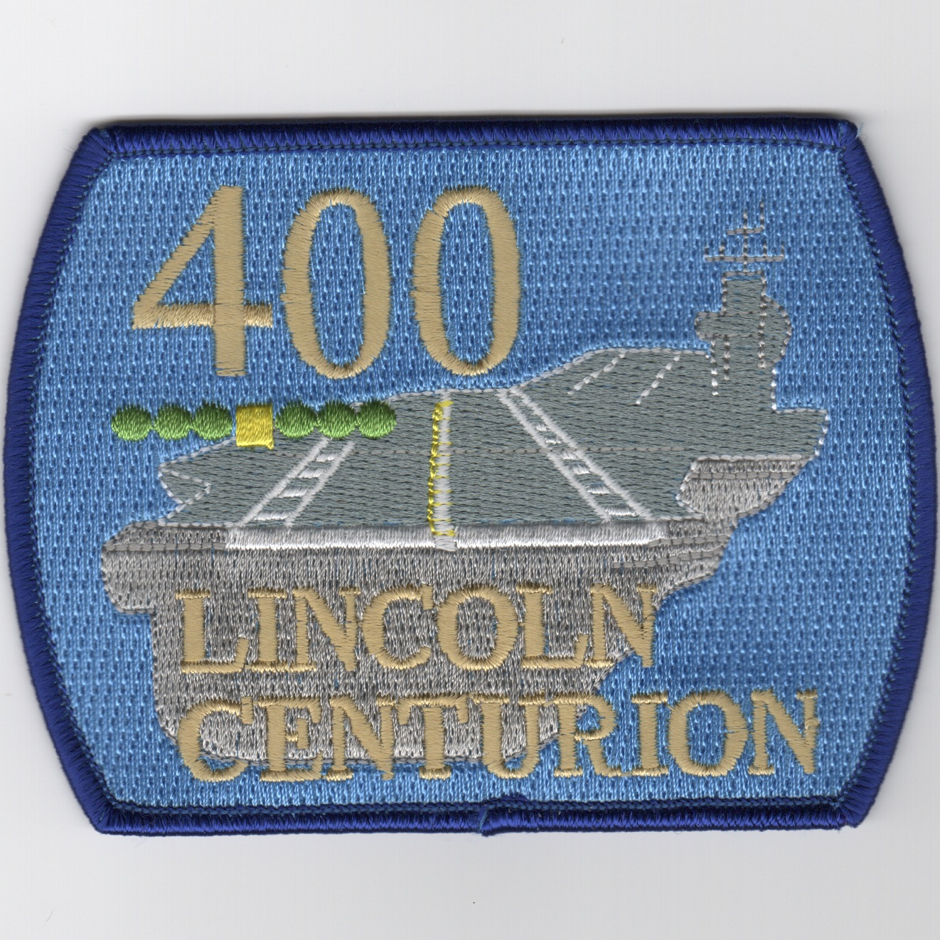 CVN-72 '400 Traps' Centurion Patch