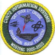 CVN-72 2002/2003 Information Systems OIF